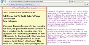Another Fake Screencap By Con-Man Robert Priddy Who Claimed That Wiehe Recorded The Phone Conversation With David Bailey